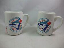 Vintage 1992 Toronto Blue Jays American league East MLB Baseball Mugs Lot of 2