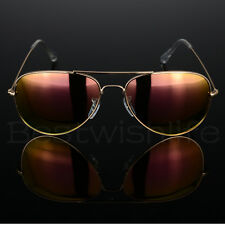 33f3d50dfd5792 Aviator Polarized Sunglasses Men Ladies Women Unisex Mirror Vintage Retro  Pilot