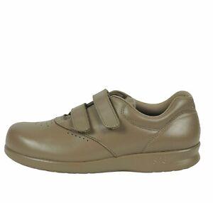 SAS Tripad Comfort Womens Me Too Walking Shoes Mocha Straps Hook & Loop 8M