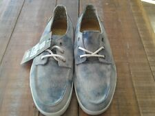 """Reef Men's """"Deckhand Hand 2 TX"""" Shoes """"Grey/White/Blue"""" Size 10"""