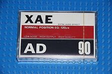 XAE  AD     90                     BLANK CASSETTE TAPE (1) (SEALED)