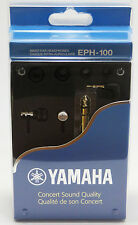 YAMAHA EPH-100 In-ear headphones Closed back Silver from Japan