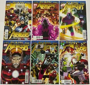 Avengers 2010 4th Series Complete Series Set 1-34 12.1 24.1 The Heroic Age