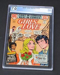 Girls Love Story #171 PGX 7.0 DC Comics 1972 Girls' Love & Romances