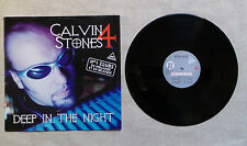 "DISQUE VINYLE 33T LP MUSIQUE INT/ CALVIN STONES 4 ""DEEP IN THE NIGHT"" MAXI 33T"