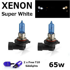 HB3 65w SUPER WHITE XENON (9005) Upgrade Main Beam Head Light Bulbs 12v