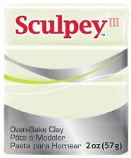 SCULPEY III - Polymer Clay - 57g - GLOW IN THE DARK