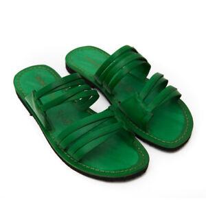 Sandals Low Green Woman Style Gallipoli