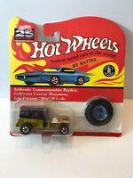 Vintage Hot Wheels Redline 1969 Paddy Wagon police Antifreeze 93 Reissue