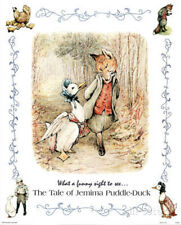 Beatrix Potter Jemima Puddle-Duck Art Print POSTER Fox Poster Print, 13x19