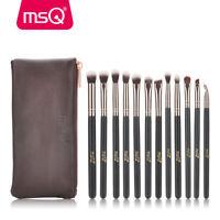 12Pcs Eyeshadow Blending Makeup Brush Set Powder Foundation Eyeliner Brushes Kit