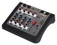 Allen & Heat ZED-6 Mixer Studio Compatto a 6 Canali con doppio DI per Chitarra
