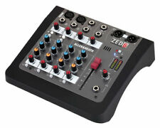 Allen & Heat ZED-6 Mixer Studio Compact a 6 Channels with Double of for Guitar