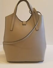NWT Claudia Firenze Genuine Leather Handbag/Backpack/Purse Gray