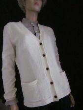 Ralph Lauren Cream MerinoWool & Angora Cardigan Sweater Large NWT