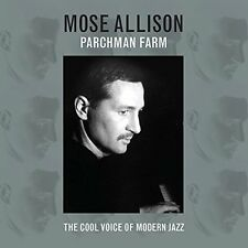Mose Allison Parchman Farm The Cool Voice of Modern Jazz 2 CDs Young man blues