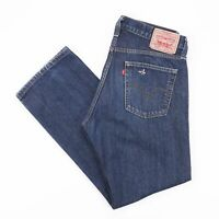Vintage LEVI'S 514 Slim Straight Fit Men's Blue Jeans W34 L30