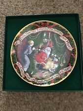 New ListingFitz & Floyd Collector's Series 1994 Limited Number Holiday Plate 5248 of 7500