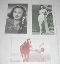 Photos-Pictures...Vintage..7 items...A...Mae West, Barbara Eiler, Spring Repairs
