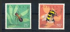 Poland 1961, Insects, 2.50 Zt and 5.60 Zt, MNH, lovely condition