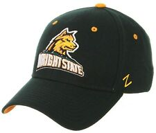 WRIGHT STATE RAIDERS WSU ZEPHYR ZHS DK GREEN FLEX FIT FITTED HAT/CAP NEW M/L