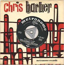 """CHRIS BARBER'S JAZZ BAND """"PETITE FLEUR / WILD CAT BLUES 60'S SP"""