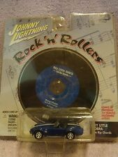 "JOHNNY LIGHTNING ROCK 'N' ROLLERS CD ""HEY LITTLE COBRA""  Rip Chords Die-Cast"