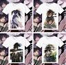 Anime Dororo Hyakkimaru Short Sleeve T-shirt Tee Tops Cosplay Costume Unisex
