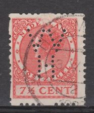 R43 Roltanding 43 PERFIN VVH used Nederland Netherlands Pays Bas syncopated