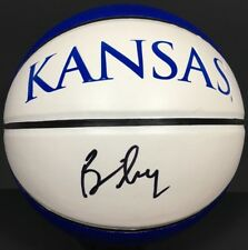 BILL SELF SIGNED AUTOGRAPHED KANSAS JAYHAWKS BASKETBALL FINAL FOUR COA
