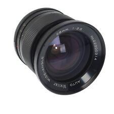 Pentax Mamiya Vivitar 28mm F2.5 Auto Wide-Angle M42 Thread Mount Lens          3