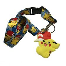 Pokemon Pikachu with Cap Charm Lanyard
