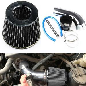 """Car Aluminum Air Intake Kit Pipe 3"""" Diameter W/Cold Air Intake Filter and Clamp"""