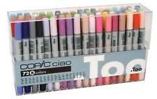 TOO COPIC CIAO Markers 72 Color Set B from Japan free shipping