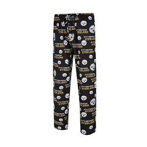 Men's Pittsburgh Steelers Concepts Sport Royal Zest All Over Print Sleep Pants