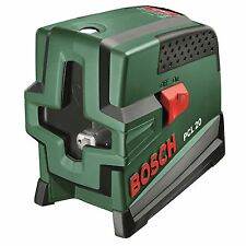 Bosch Cross Level And Plumb Line Laser Level Set  bright laser diodes