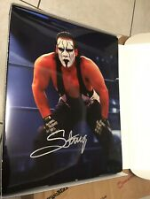STING WCW WWE SIGNED AUTOGRAPH 11X14 PHOTO
