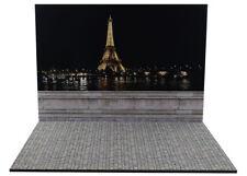 Diorama présentoir Paris by Night - 1/18ème - #18-2-F-F-005