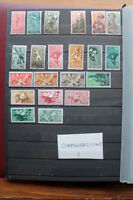 LOT STAMPS COLONIES SPAIN TOPICAL ANIMALS BIRDS SPORT MNH** (coF)
