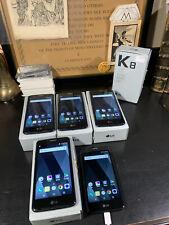 Lot of 5 Lg K8 X240Yk Unlocked Check Imei Good Condition Read Description