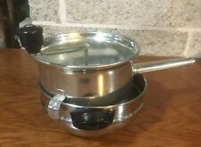 FOLEY 101 METAL FOOD MILL SIFTER MASHER STRAINER TOMATO CANNING BABYFOOD