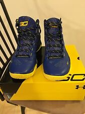 New Under Armour Men's Steph Curry Two Dub Nation Away Warriors - Blue Yellow