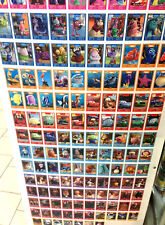 Disney Pixar Collectible Card LOT Foreign BG 12 Packs of Collectors CARDS Mint