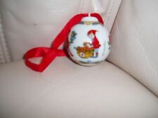 "ROSENTHAL. NEW. CHRISTMAS TREE PORCELAIN ORNAMENT DECOR.   1 1/2 "" BALL."