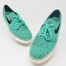 Nike Zoom Mens Stefan Janoski Skateboard Shoe Crystal Mint Green Size 12