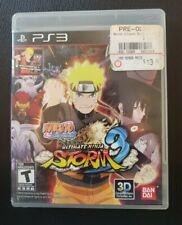 MINT Naruto Shippuden Ultimate Ninja Storm Generations PS3 Complete CIB TESTED