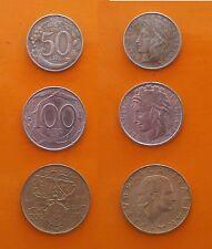 Repubblica Italiana 50 Lire + 100 Lire + 200 Lire Lega Navale Italiana anno 1997