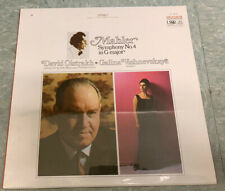 SEALED David OISTRAKH Vishnevskaya Mahler Symphony No.4 MELODIYA SR-40076 MINT M