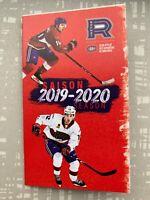 AHL -  Pocket Schedule Rocket Laval season 2019-20
