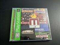 Namco Museum Volume 3 GH Sony Playstation 1 PS1 EX+NM condition COMPLETE